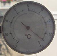 taga maksimuma temperaturo ekstera