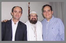 El Sheikh con los Iniciados.