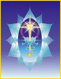 El Corazon es el que se abre como un loto de 12 petalos al ver la Luz que es la que nos da la vida!.