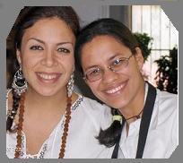 Nancy Contreras junto a la Mata JI Fatima GG::