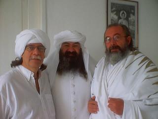 Los Jerarcas con el Hakim Abel, Click en la imagen para ampliarla