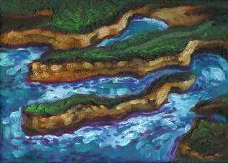 Island Painting by Lori Levin
