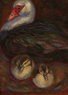 Ducks by Lori Levin