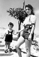 מירה בן ארי ובנה בן השנתיים