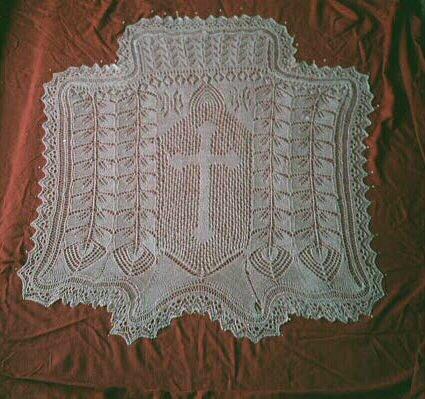 Knitting Veil Stitch : Jeans Knitting: January 2006