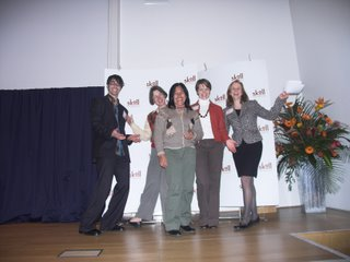 Phil Collis, Ruth Norris, Albina Ruiz, Heather Mason and Christy Chin