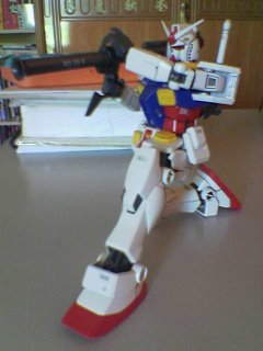 Action pose with Hyper Bazooka