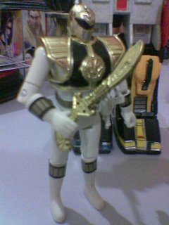 This is the White Ranger, the Tiger-man