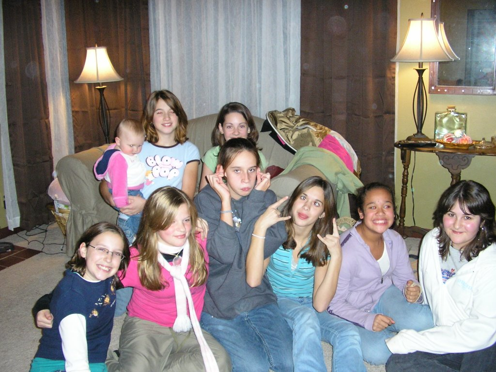 The Big Texas Hill Family: School Dance and sleepover