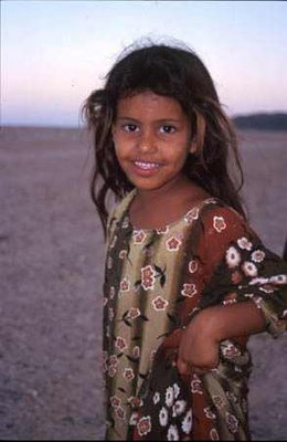 Young girl. Oman, Arabian Peninsula.