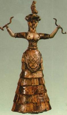 The Snake Goddess