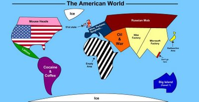 World seen in an american's eyes