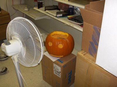 Step 3 - Pc extreme tunning - Drying the pumpkin