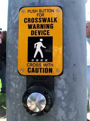 Cross Walk button. How to set it before time; How to hack it