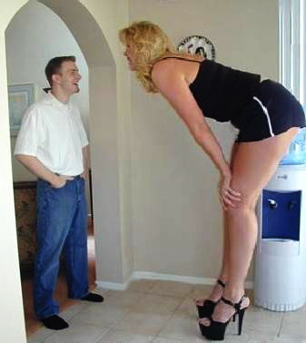 Funny Tall Women Pictures and photos