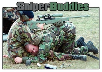 Funny Picture - Military Sniper buddies
