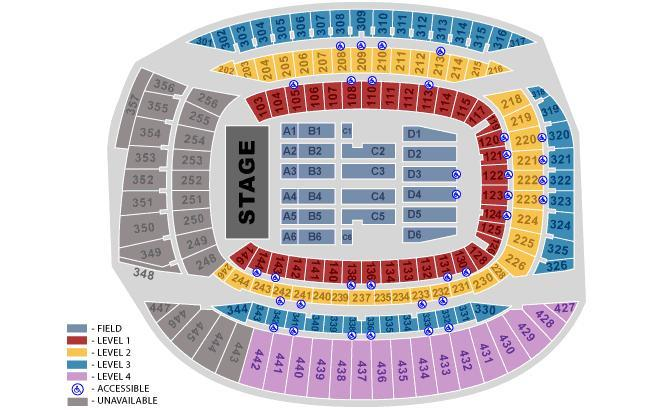 Soldier Field Seating Chart U2 Concert Cowic