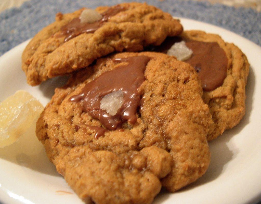 Just Braise: Pumpkin-Gingersnap Cookies