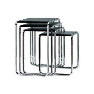 Marcel Breuer nested tables bauhaus modern contemporary