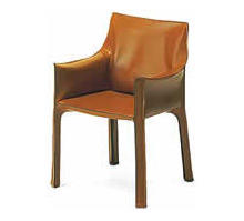 cassina mario bellini saddle leather chair