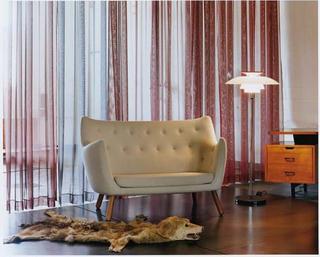 finn juhl poeten sofa midcentury modern danish chair
