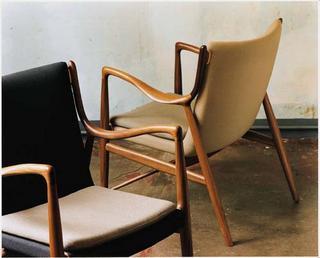 finn juhl model 45 midcentury danish chairs hansen vintage sorensen wegner