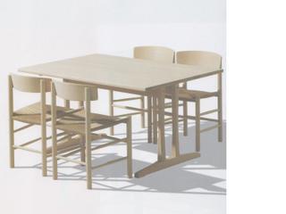 fredericia borge mogensen shaker chair table C18 J39 danish wegner