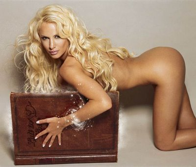 Luciana Salazar Nude Picture from Playboy Magazine!