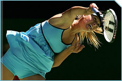 Maria Sharapova Failed at Australaian Open 2006