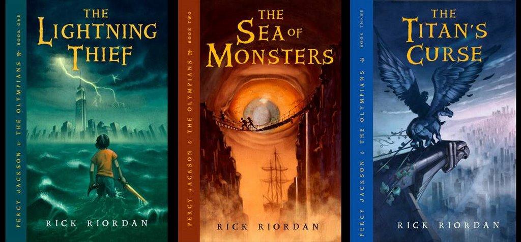 The Titan S Curse Cover Rick Riordan