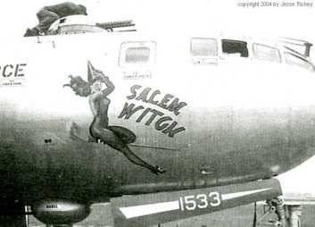 'Salem Witch,' a World War II American bomber.