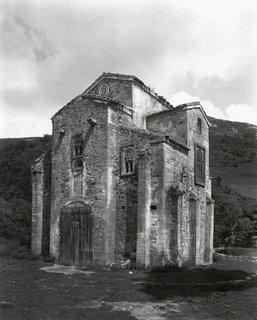 Iglesia de San Miguel de Lillo, Oviedo. Foto del Archivo Moreno