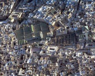 Vista aérea de la medina de Fez, Marruecos