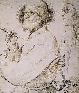 Supuesto autorretrato de Pieter Bruegel el Viejo