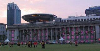 Inauguración de la Bienal de Singapur 2006