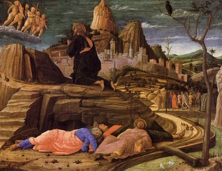 'Agonía en el huerto'. Londres, National Gallery