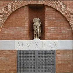 Fachada del Museo Nacional de Arte Romano [Foto: Ministerio de Cultura]