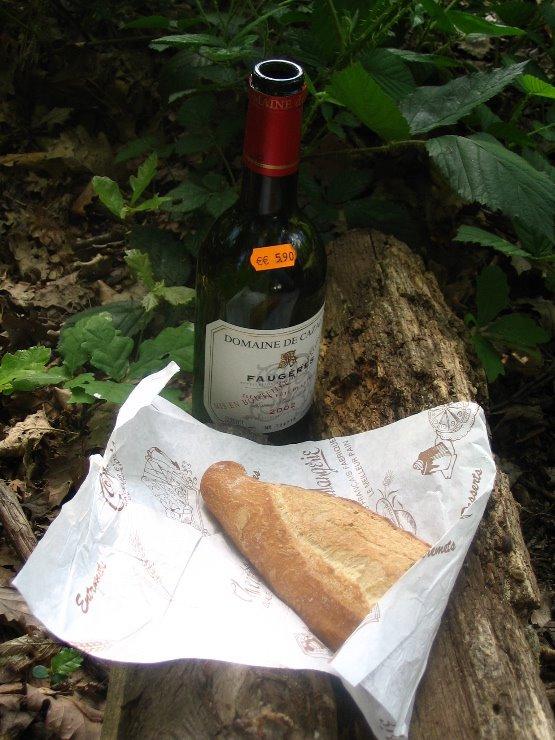 faugeres bois de bologne picnic paris baguette