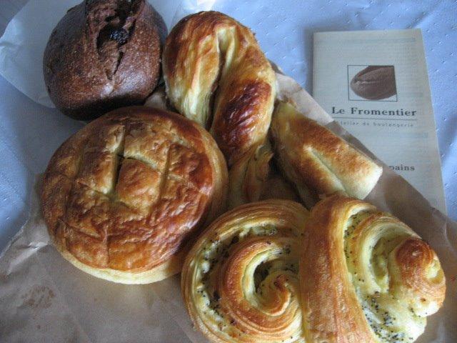 le fromentier atelier de boulangerie montreal carte des pains viennoisserie