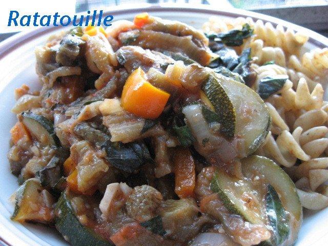 ratatouille aubergine continental eggplant zucchini