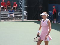 mara santangelo first round match at&t cup 2006