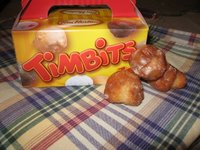 Tim Hortons Snack Pack of 10 Sour Cream Glazed Timbits