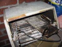fire hazard unattended toaster oven