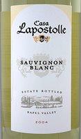 Casa Lapostolle Sauvignon Blanc 2005