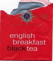 stash English breakfast red teabag packet