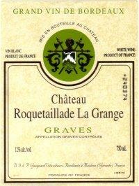 2005 Château Roquetaillade La Grange