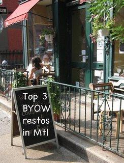 list of best restaurants montreal byow les meilleurs restaurants sur le plateau format apportez votre vin à Montréal