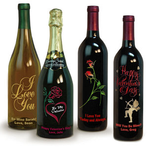 expressive customized wine label bottles for tacky holiday celebrations