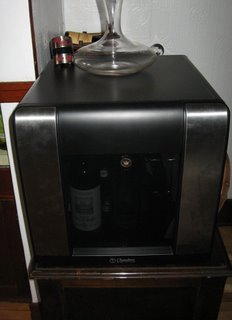 Chambrer wine cellar appliance refrigerator door