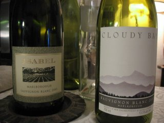 isabel estate cloudy bay babich west brook sauvignon blanc 2005 marlborough